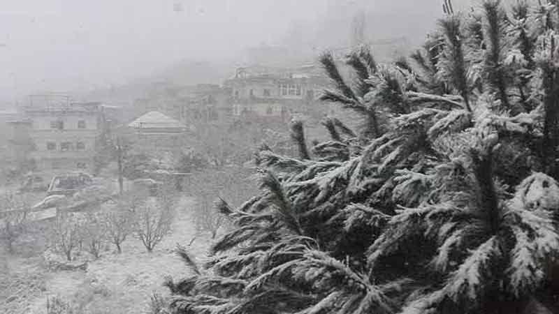 """العاصفة """"نورما"""" تشتد.. والثلوج على ارتفاع الـ 700 متر"""