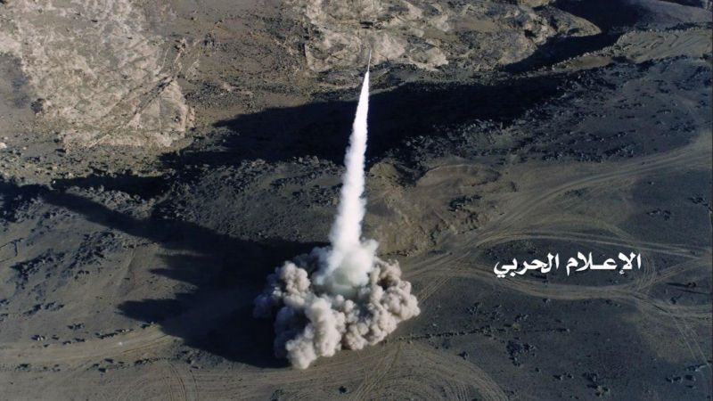 باليستي يمني يدكّ تجمعات العدوان السعودي في ميدي