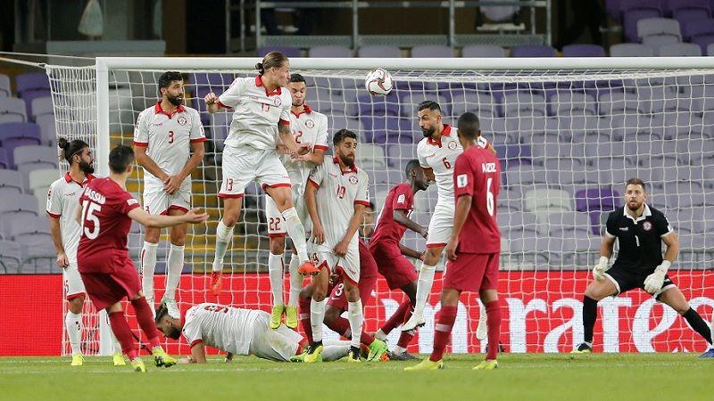 كأس آسيا: بداية غير موفقة لمنتخب لبنان وفوز قطر بهدفين