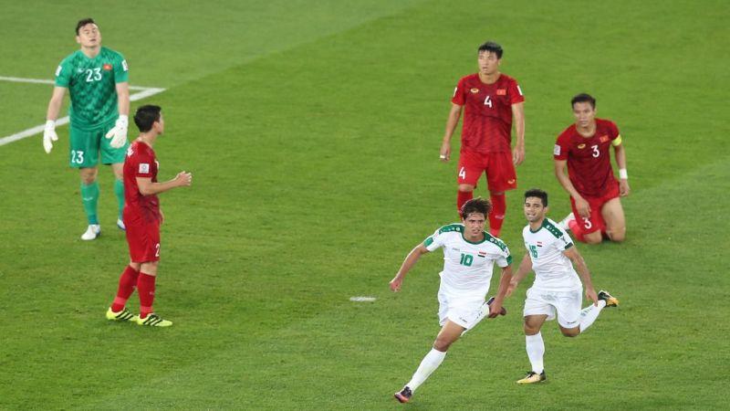 كأس آسيا: العراق يحقق فوزًا هامًا على فيتنام