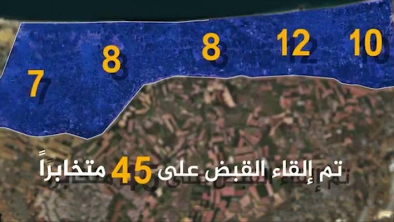 بالفيديو: حرب الاستخبارات تتواصل .. توقيف عشرات العملاء بغزة