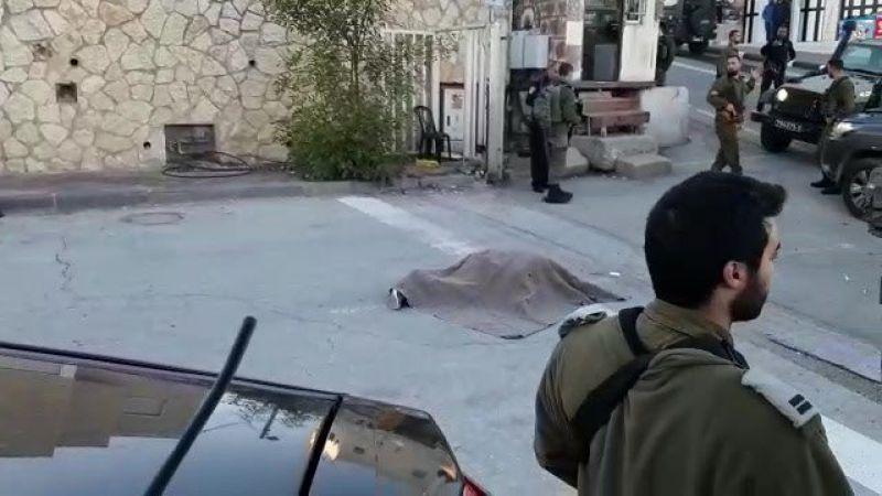"""شهيد فلسطيني برصاص قوات الاحتلال بزعم تنفيذه عملية طعن على مدخل """"كريات أربع"""" في الخليل"""
