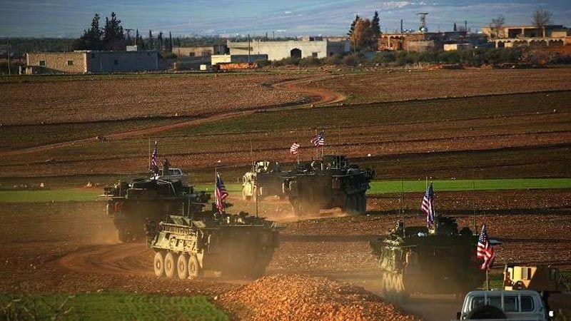 القوات الأمريكية تبدأ سحب معداتها من سوريا