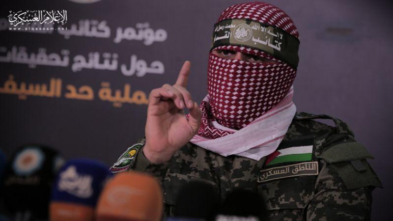 """أبو عبيدة عن """"حد السيف"""" : سيطرنا على معدات تحتوي على أسرار كبيرة للعدو"""