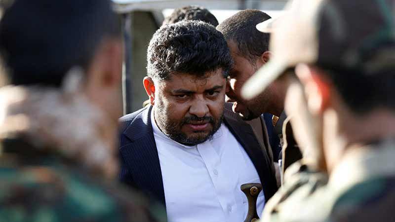 الحوثي يحمّل العدوان السعودي مسؤولية إحراق مصافي عدن