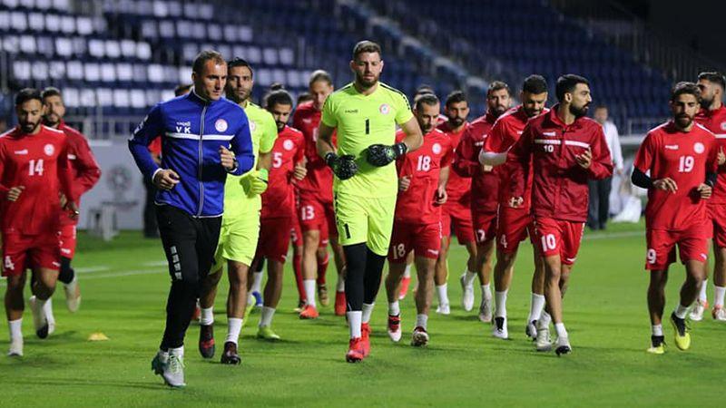 منتخب لبنان جاهز لمواجهة السعودية