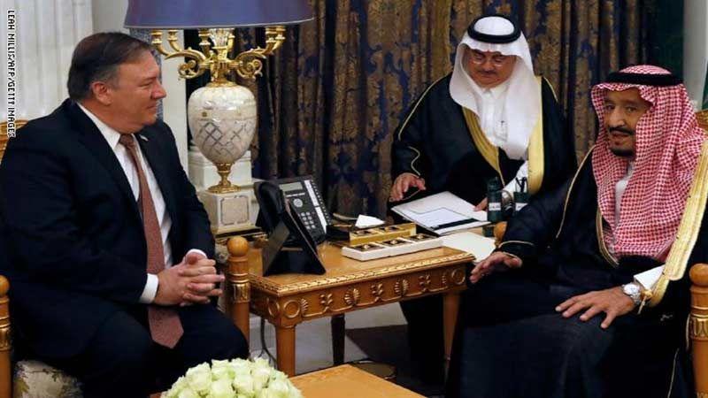سجون تعذيب النساء والملف اليمني يتصدران أجندة محادثات بومبيو مع القادة السعوديين