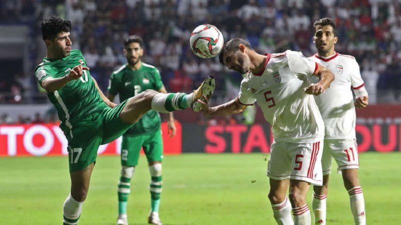 كأس آسيا : إيران تحافظ على الصدارة بتعادلها مع العراق