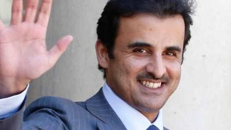 أمير قطر يشارك في قمة بيروت الاقتصادية