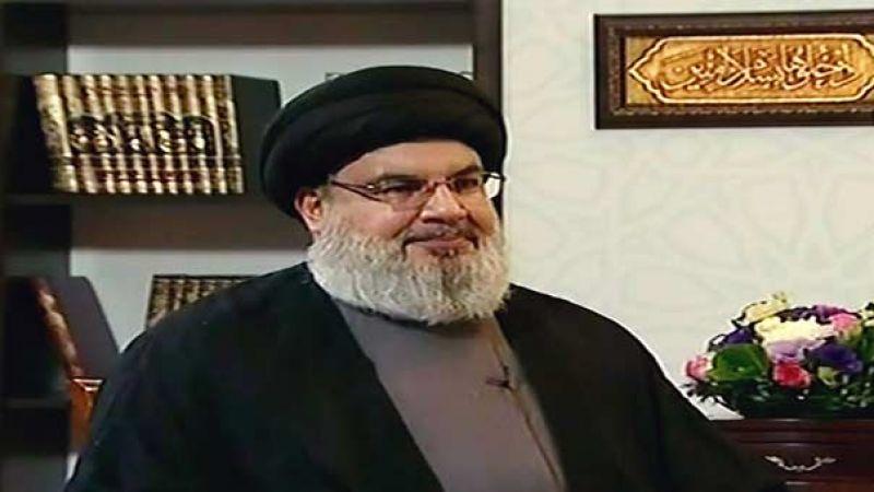 السيد نصر الله: لن يعلم الصهاينة من أين سندخل الى الجليل ومصرّون على تشكيل حكومة