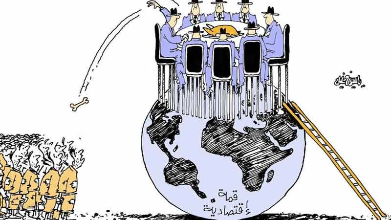 كاريكاتير العهد
