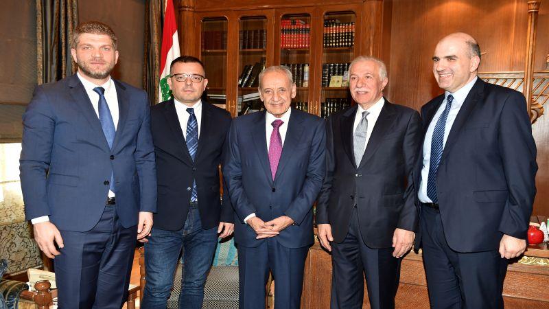الرئيس بري استقبل وزير الزراعة الصربي والسفير الايراني وعرض الوضع الحكومي مع كرامي