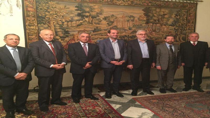 اللقاء التشاوري: الوزير مراد ممثل حصري للقاء في الحكومة