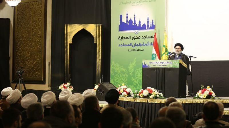 السيد صفي الدين: نأمل أن تكون الحكومة على مستوى الوعود التي تطلق