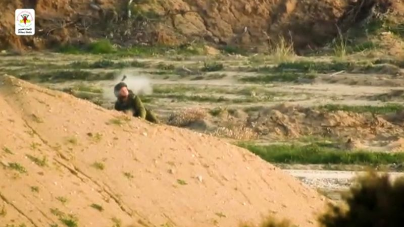 الجهاد الإسلامي تنشر فيديو لعملية قنص جندي صهيوني شرق قطاع غزة