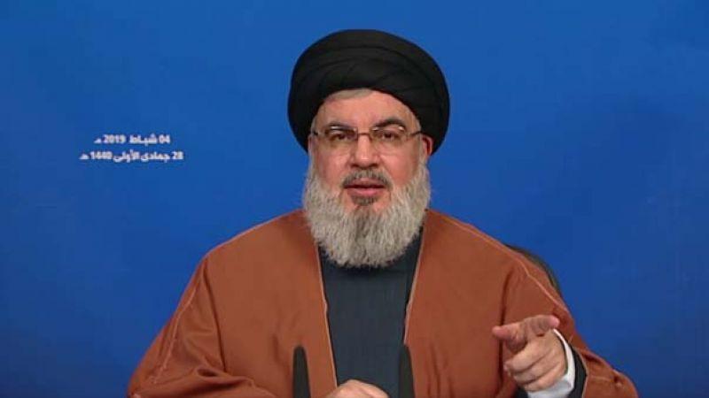 السيد نصر الله: للتعاطي بهدوء بعد تشكيل الحكومة ومعالجة ملفات الناس الحياتية