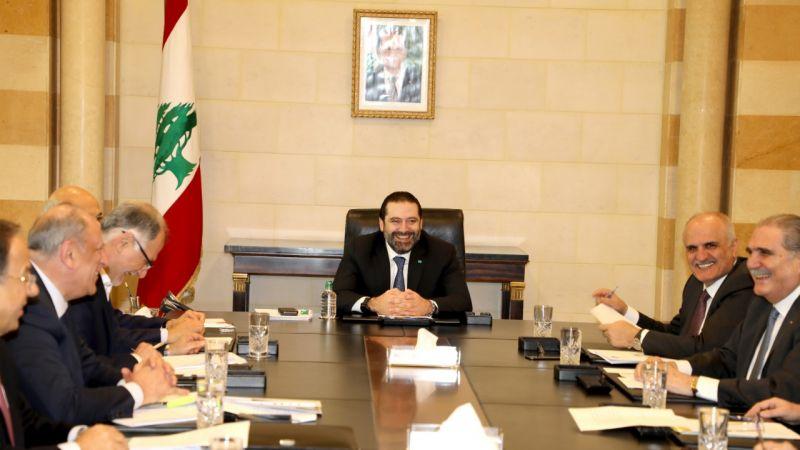 الحريري ترأس الاجتماع الاول للجنة البيان الوزاري