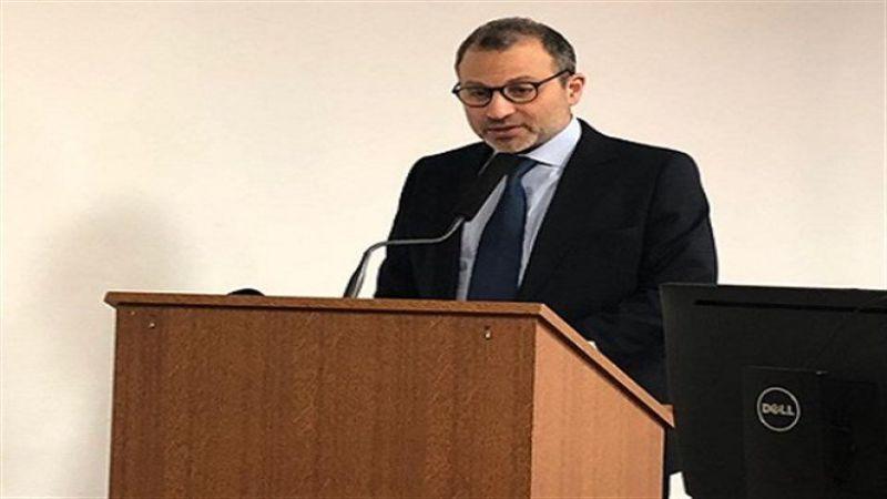 باسيل: لصالحنا اعادة العلاقات مع سوريا والاتفاق النووي الإيراني كان فرصة عظيمة