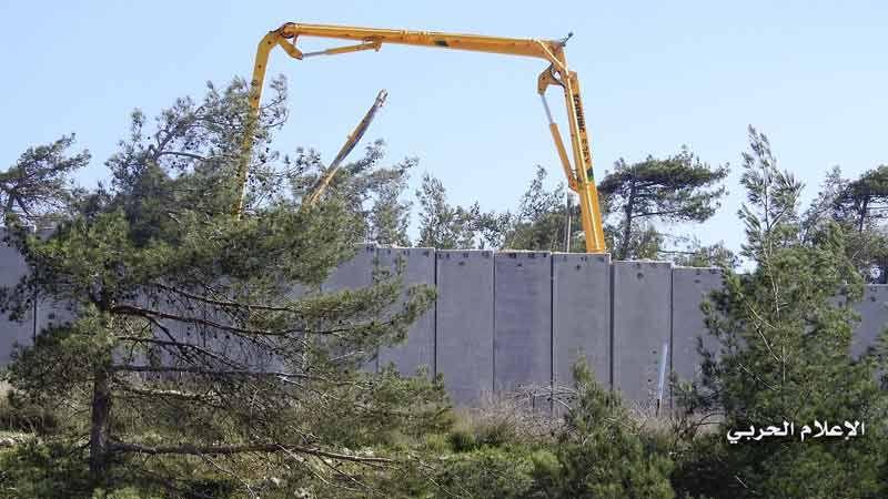 العدو الصهيوني يواصل خرقه للمنطقة المتحفظ عليها مقابل العديسة