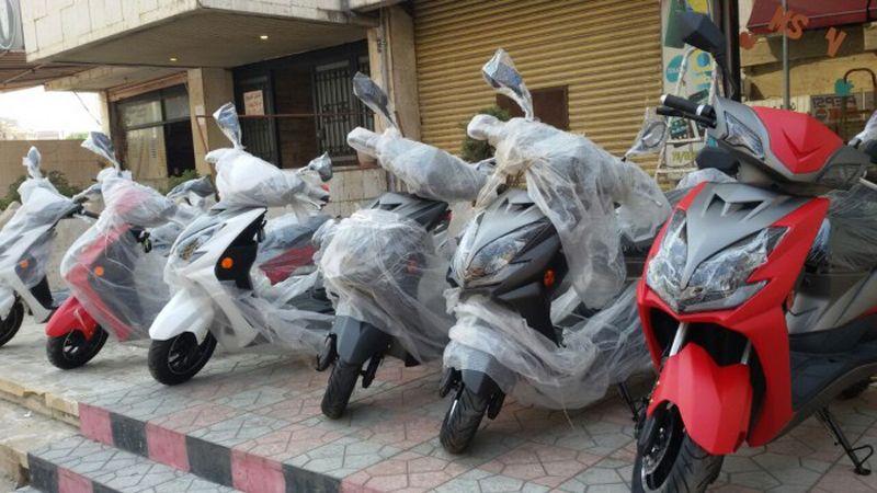 قوى الامن تتشدد بتنظيم بيع الدراجات النارية
