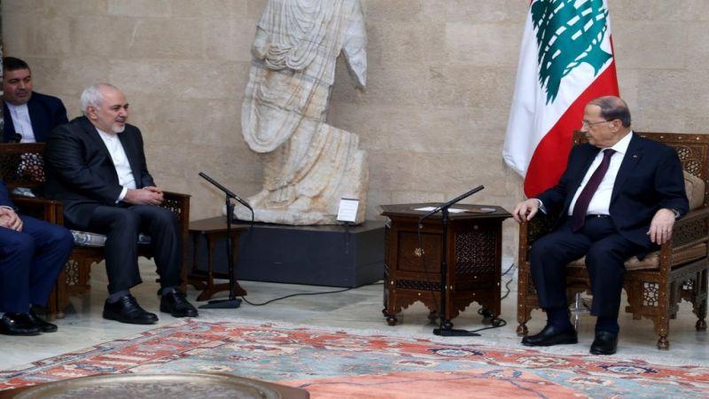 ظريف في لبنان مهنئاً بالحكومة.. مستعدون للتعاون في أي مجال