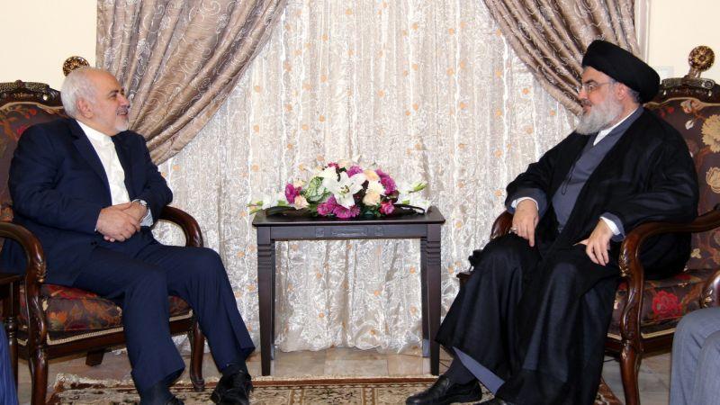 السيد نصرالله يلتقي ظريف والأخير يؤكد: موقفنا ثابت الى جانب لبنان دولةً وشعباً ومقاومة ـ فيديو
