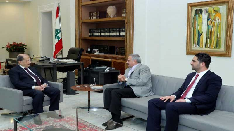 ارسلان بعد لقائه رئيس الجمهورية: إلى علاقة واضحة مع الدولة السورية لحل ازمة النازحين