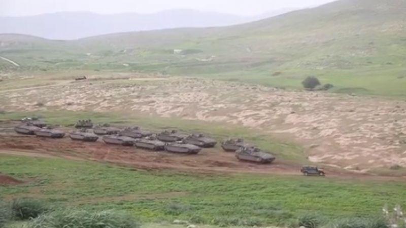 الأغوار الفلسطينية.. تهجير بحجة التدريبات الاسرائيلية
