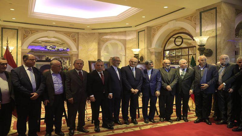 #أربعون_ربيعاً: حفل الاستقبال الذي أقامته سفار ةالجمهورية الاسلامية في بيروت بمناسبة الانتصار برعاية ظريف ـ مصور