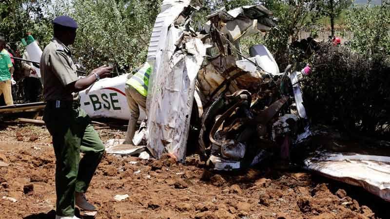 مقتل لبنانية وابنها و3 أميركيين في تحطّم طائرة كينية