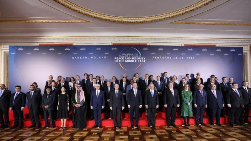 مؤتمر وارسو فشل في تشكيل جبهة دولية ضد إيران