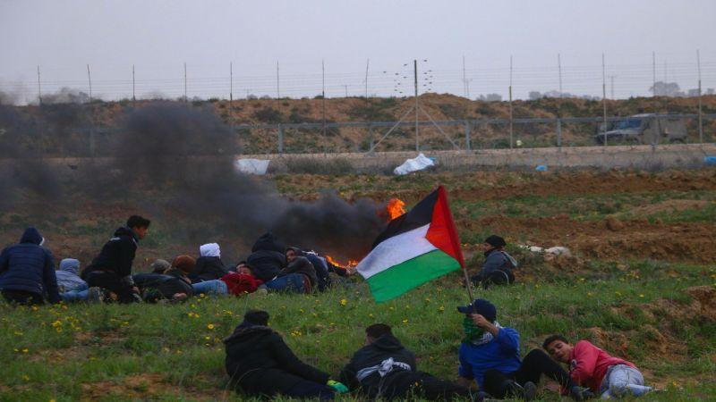 إصابة عشرات الفلسطينيين برصاص الاحتلال في الجمعة الـ47 لمسيرات العودة