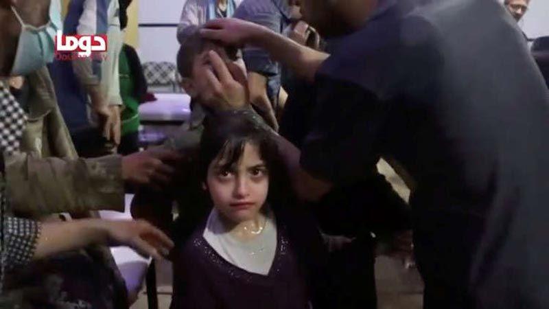 """مراسل """"بي بي سي"""": مشاهد الهجوم الكيميائي في مشفى دوما مسرحية مفبركة"""