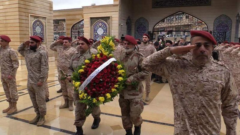 حزب الله يحي ذكرى الشهداء القادة في النبي شيت بمراسم خاصة