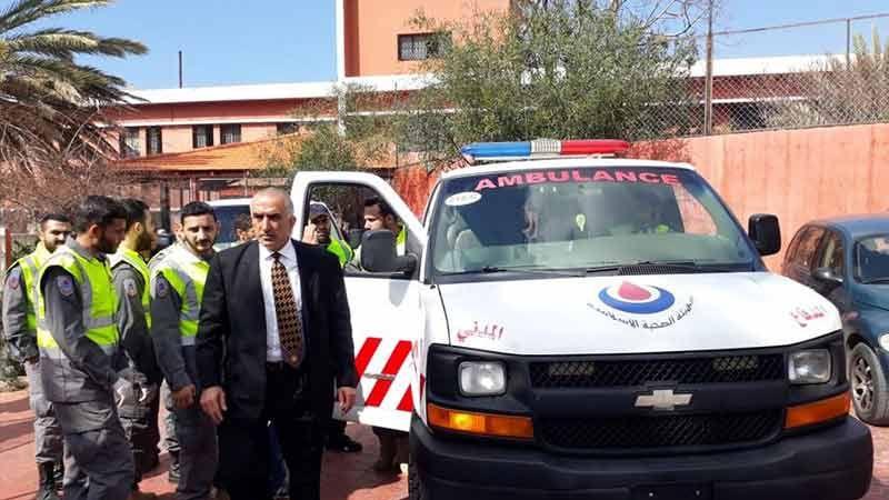 الهيئة الصحية الاسلامية والصليب الاحمر ينقلان مرضى مستشفى الفنار