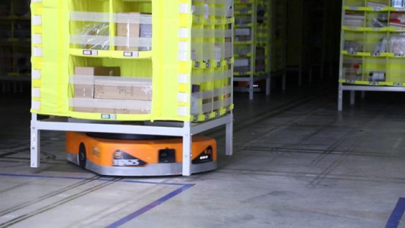 بالفيديو .. روبوتات لتسريع الطلب عبر الانترنت