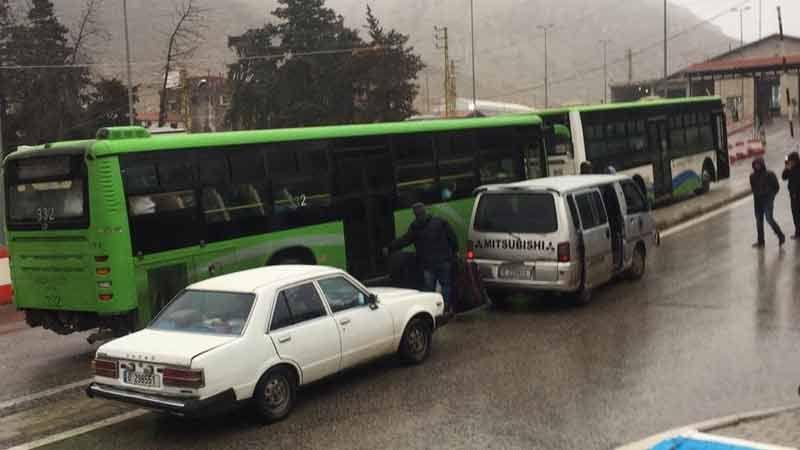 دفعة جديدة من النازحين تغادر الى سوريا