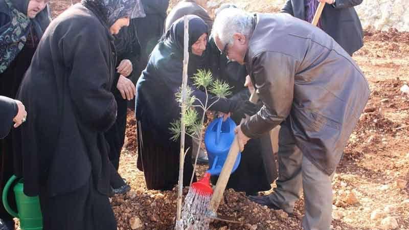 افتتاح الحديقة الثانية لدار الإمام زين العابدين (ع) للمسنين في الخيام