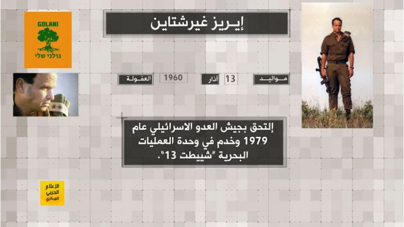 من تاريخنا الجهادي... #المقاومة تصرع الجنرال الصهيوني إيرز غيرشتاين