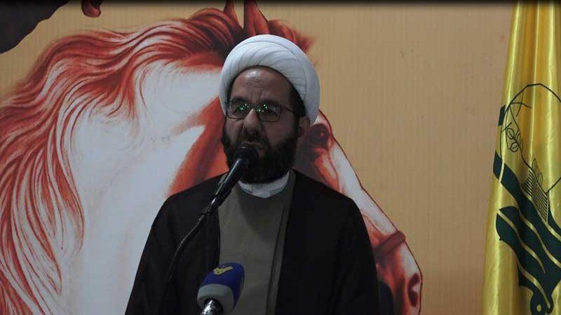 الشيخ دعموش: محور المقاومة سيتابع طريقه حتى القضاء على الاٍرهاب وتحقيق الانتصار الكامل