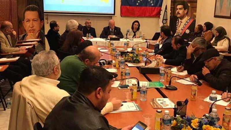 السفير الفنزويلي في لبنان: الشعب الفنزويلي سينتصر على المؤامرة الأميركية