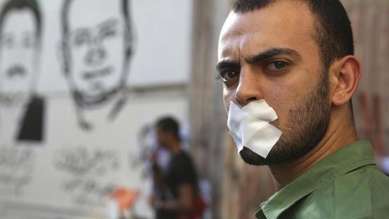 مصر تحتل المركز الأخير عالميا في مؤشر الحريات عام 2018