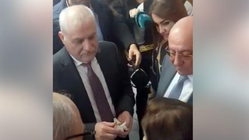 الوزير جبق يصدر موافقة على الهواء لمريض مسن في جبيل ـ بالفيديو