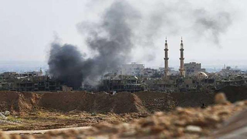 مجزرة جديدة ضحيتها 10 مدنيين بينهم أطفال جراء قصف طيران التحالف مخيم الباغوز