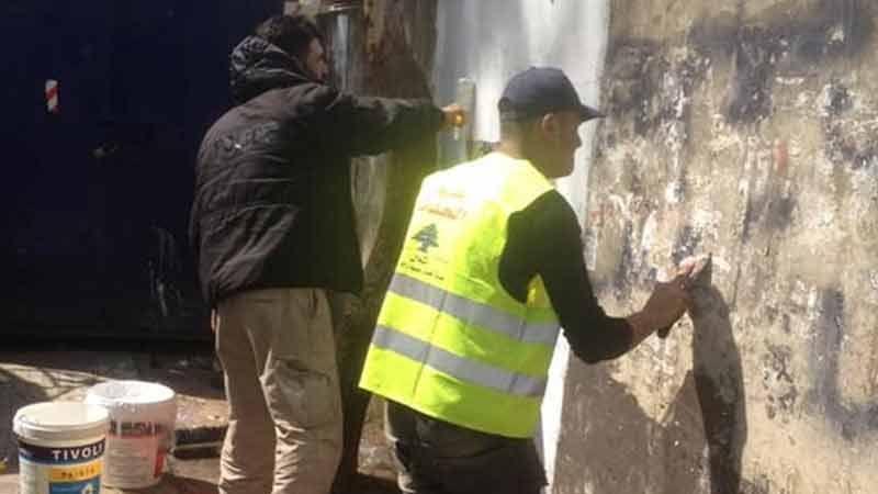 """العمل الاجتماعي في حزب الله يستكمل تطبيق خطة """"ضاحيتي أجمل"""" ومحطة اليوم في الجاموس"""