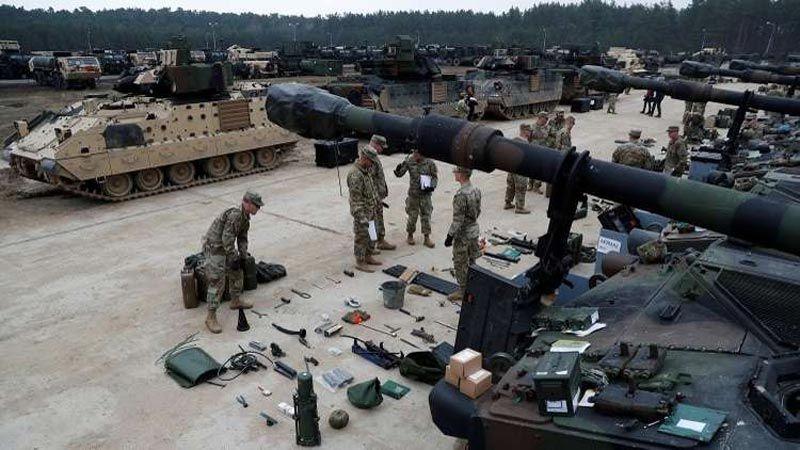 """""""الناتو"""" يبني مستودعات في أوروبا لتخزين أسلحة أمريكية"""