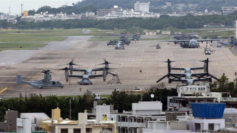اليابان: انفجار يهزّ قاعدة مشاة البحرية الأميركية في جزيرة أوكيناوا