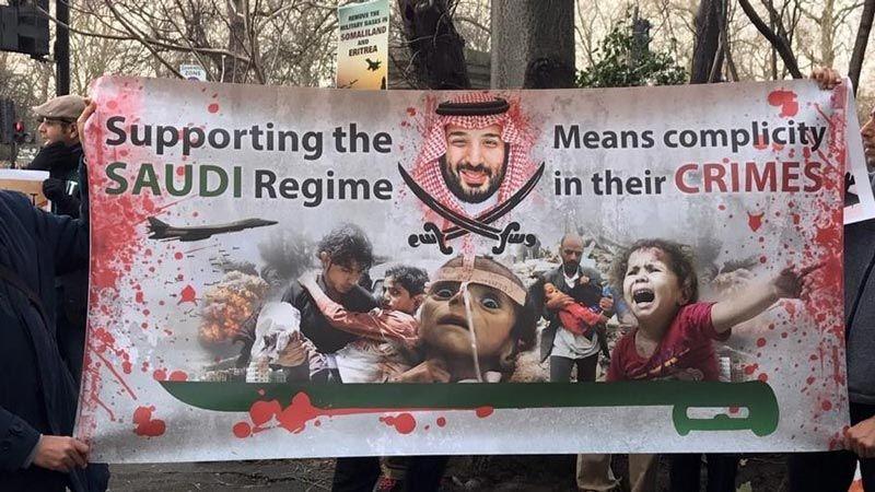 أحزاب بريطانية تدعو ماي لوقف بيع الأسلحة للسعودية