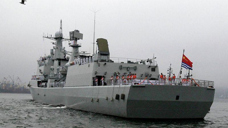مناورات بحرية روسية صينية ضخمة في أواخر نيسان/أبريل