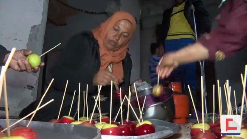 بحلويات العنبر .. عائلة فلسطينية تقاوم جوع الحصار